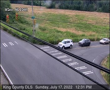 Traffic camera: West Snoqualmie Valley Road NE at NE 124th St